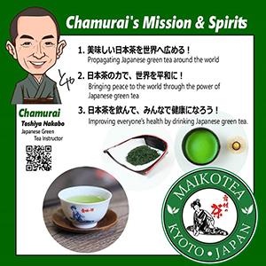 「chamurai's mission&spirits